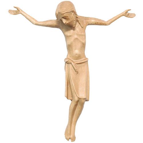 Corps Christ en style roman bois patiné Valgardena 1