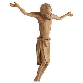 Corpo di Cristo stile romanico legno Valgardena patinato s4