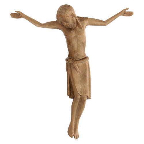 Corpo di Cristo stile romanico legno Valgardena patinato 1