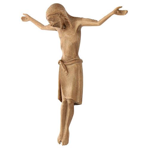 Corpo di Cristo stile romanico legno Valgardena patinato 3