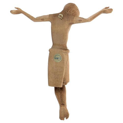 Corpo di Cristo stile romanico legno Valgardena patinato 5
