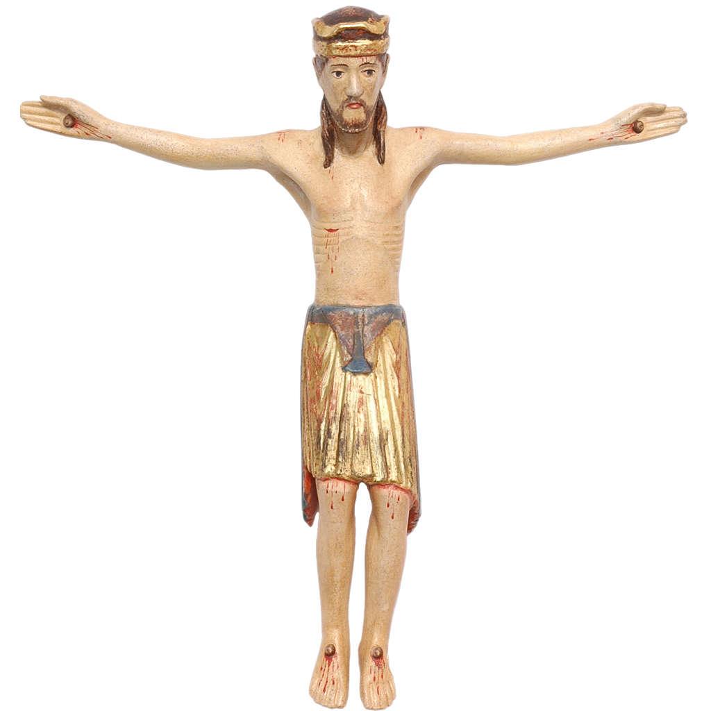 Corpo di Cristo di Altenstadt legno Valgardena Antico Gold 4