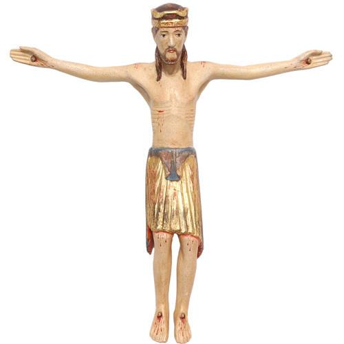 Corpo di Cristo di Altenstadt legno Valgardena Antico Gold 1