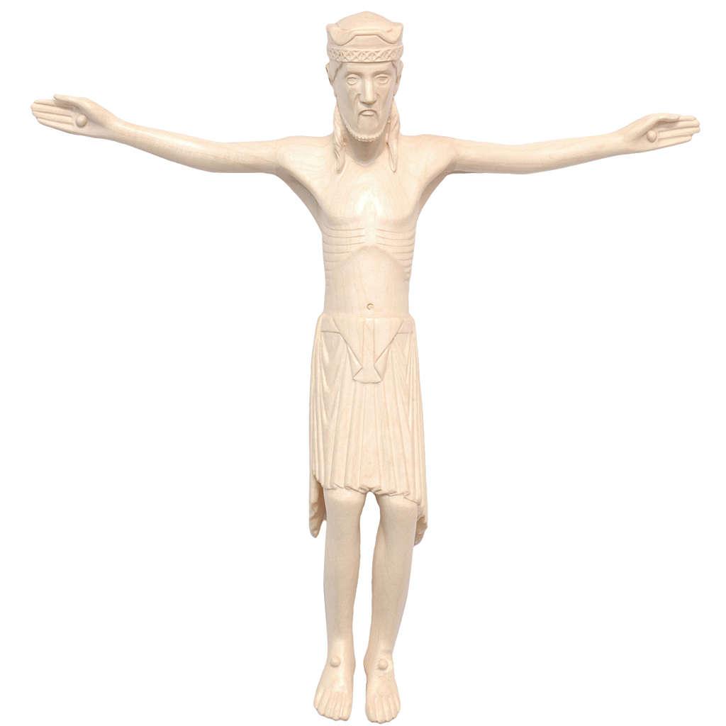 Corpo di Cristo di Altenstadt legno Valgardena naturale cerato 4