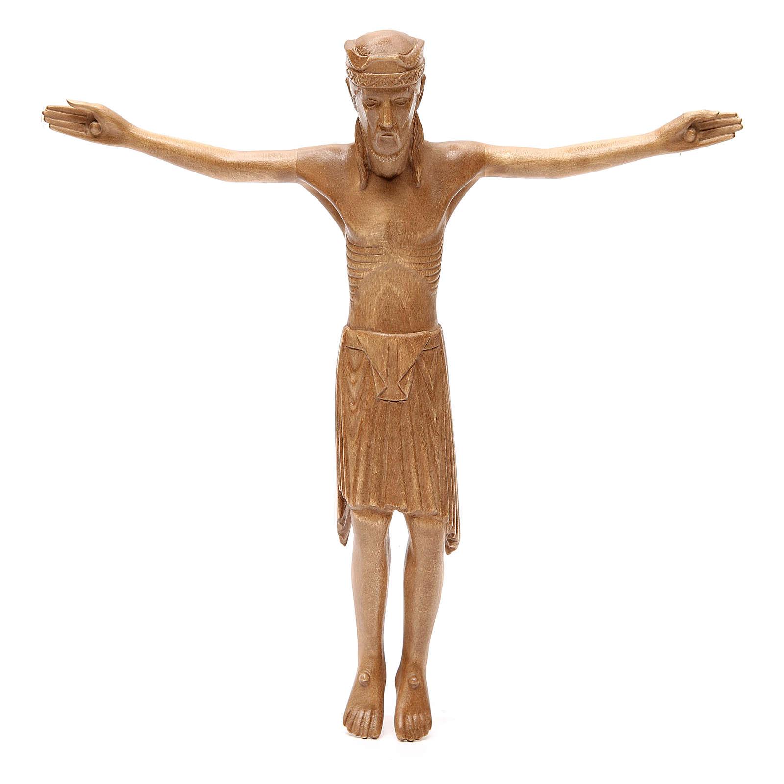 Corpo di Cristo di Altenstadt legno Valgardena patinato 4