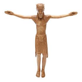 Corpo di Cristo di Altenstadt legno Valgardena patinato s1