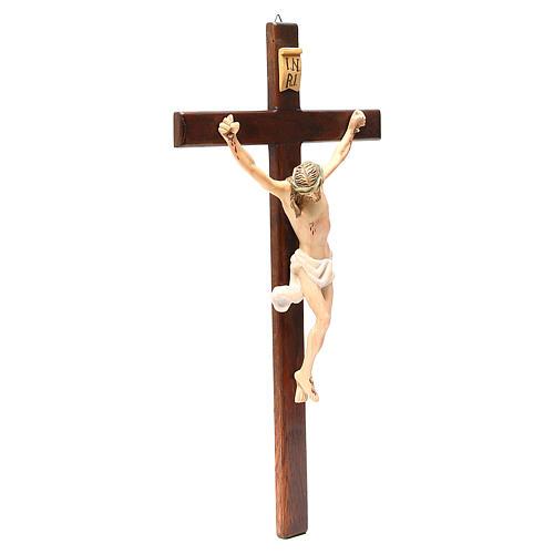Crocifisso in legno dipinto varie misure 2