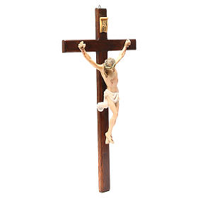 Crucifix in painted wood, different sizes available s2