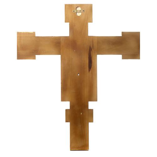 Crucifijo Cimabue de madera pintada 4