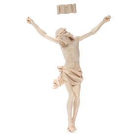 Corps Christ mod. Corpus bois naturel ciré Valgardena s1