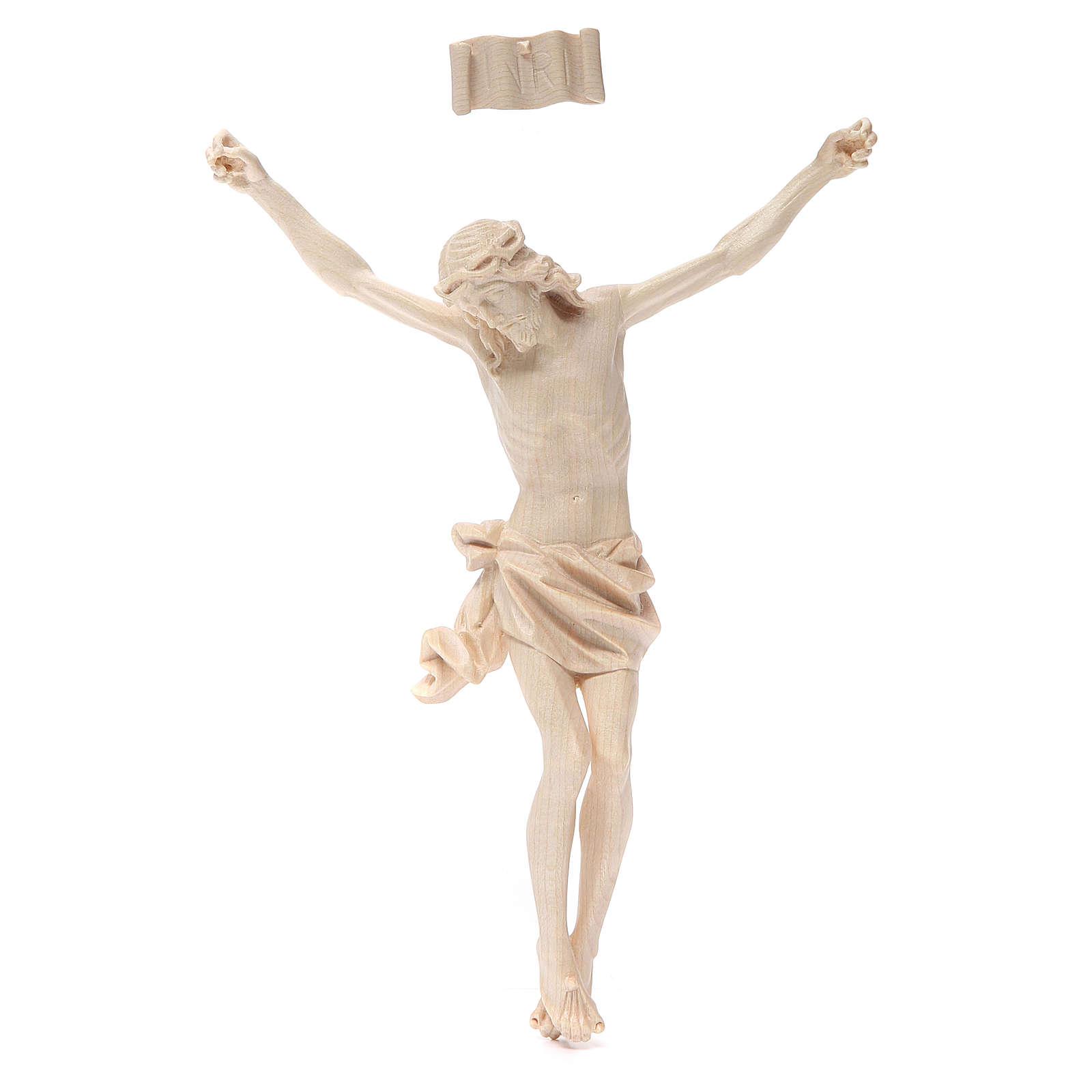 Corpo di Cristo mod. Corpus in legno Valgardena naturale cerato 4