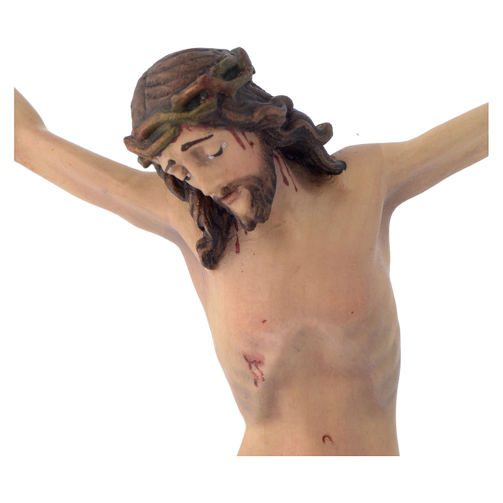Corpo di Cristo mod. Corpus legno Valgardena dipinto 4