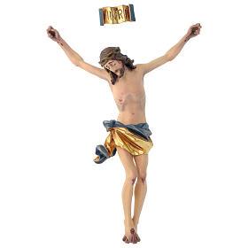 Corpo di Cristo mod. Corpus legno Valgardena dipinto s1