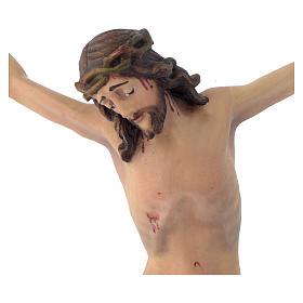 Corpo di Cristo mod. Corpus legno Valgardena dipinto s2