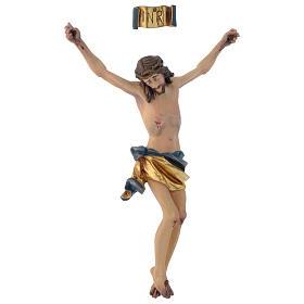 Corpo di Cristo mod. Corpus legno Valgardena dipinto s3