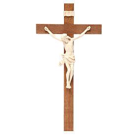 Crocefisso mod. Corpus croce dritta legno Valgardena naturale ce s1