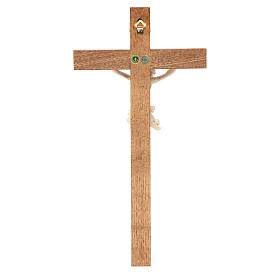 Crocefisso mod. Corpus croce dritta legno Valgardena naturale ce s4