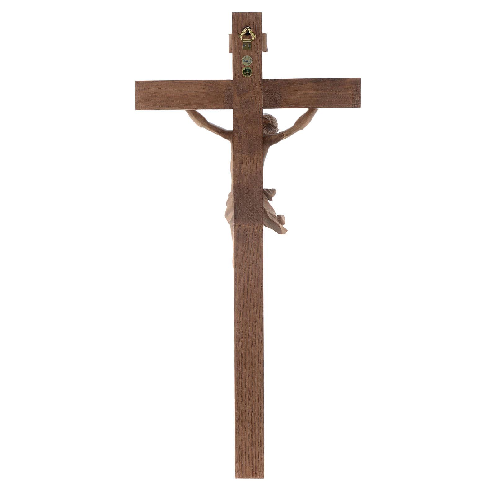Kruzifix Grödnertal Holz Mod. Corpus patiniert 4