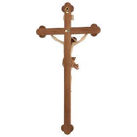 Crucifijo trilobulado modelo Corpus, madera Valgardena varias pa s5