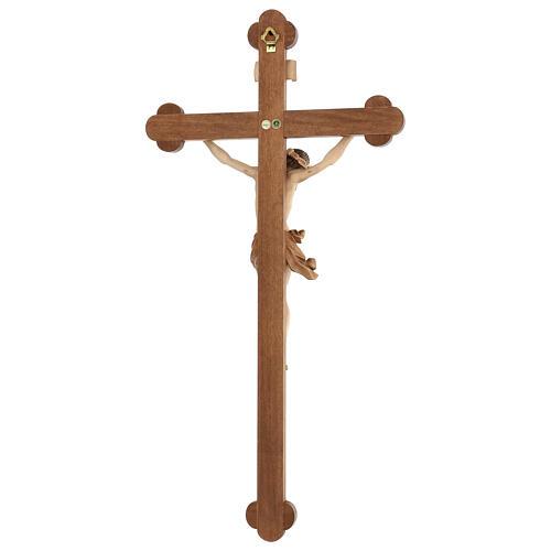 Crucifijo trilobulado modelo Corpus, madera Valgardena varias pa 5