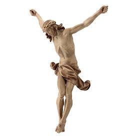 Leib Christi Mod. Corpus aus Grödnertal Holz patiniert s3