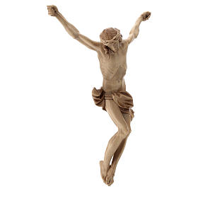 Leib Christi Mod. Corpus aus Grödnertal Holz patiniert s4