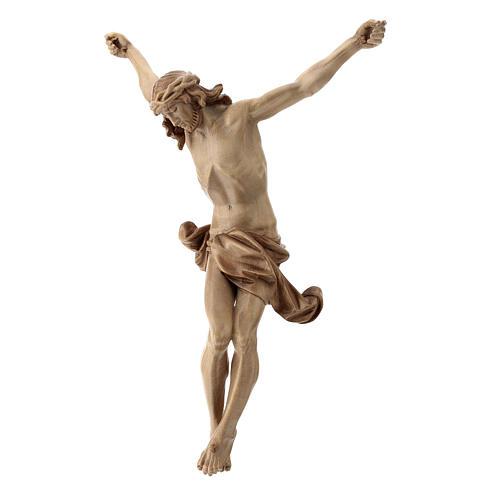 Leib Christi Mod. Corpus aus Grödnertal Holz patiniert 3