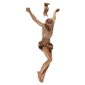 Cuerpo de Cristo modelo Corpus, madera Valgardena varias patinad s3