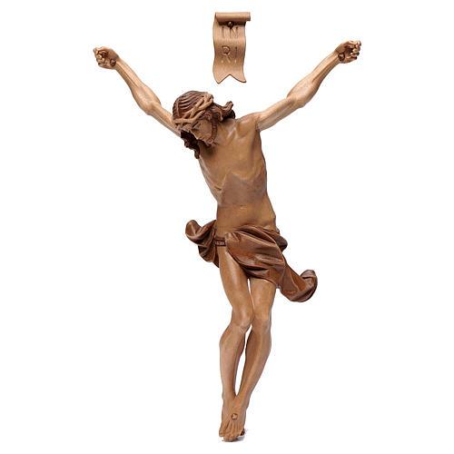Cuerpo de Cristo modelo Corpus, madera Valgardena varias patinad 1