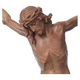 Cuerpo de Cristo modelo Corpus de madera Valgardena patinada s2