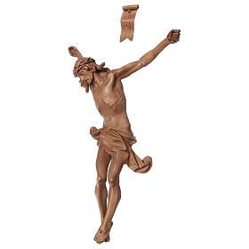 Cuerpo de Cristo modelo Corpus de madera Valgardena patinada s3
