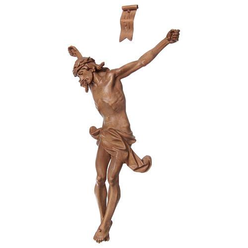 Cuerpo de Cristo modelo Corpus de madera Valgardena patinada 3