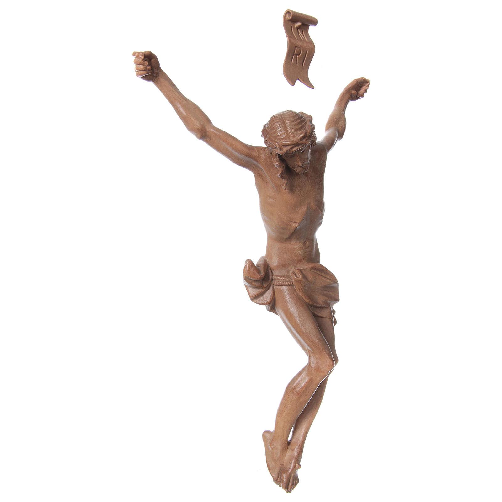 Corpo di Cristo mod. Corpus legno Valgardena patinato 4