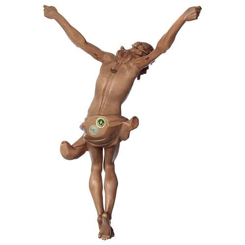 Body of Christ, Corpus model in patinated Valgardena wood 5