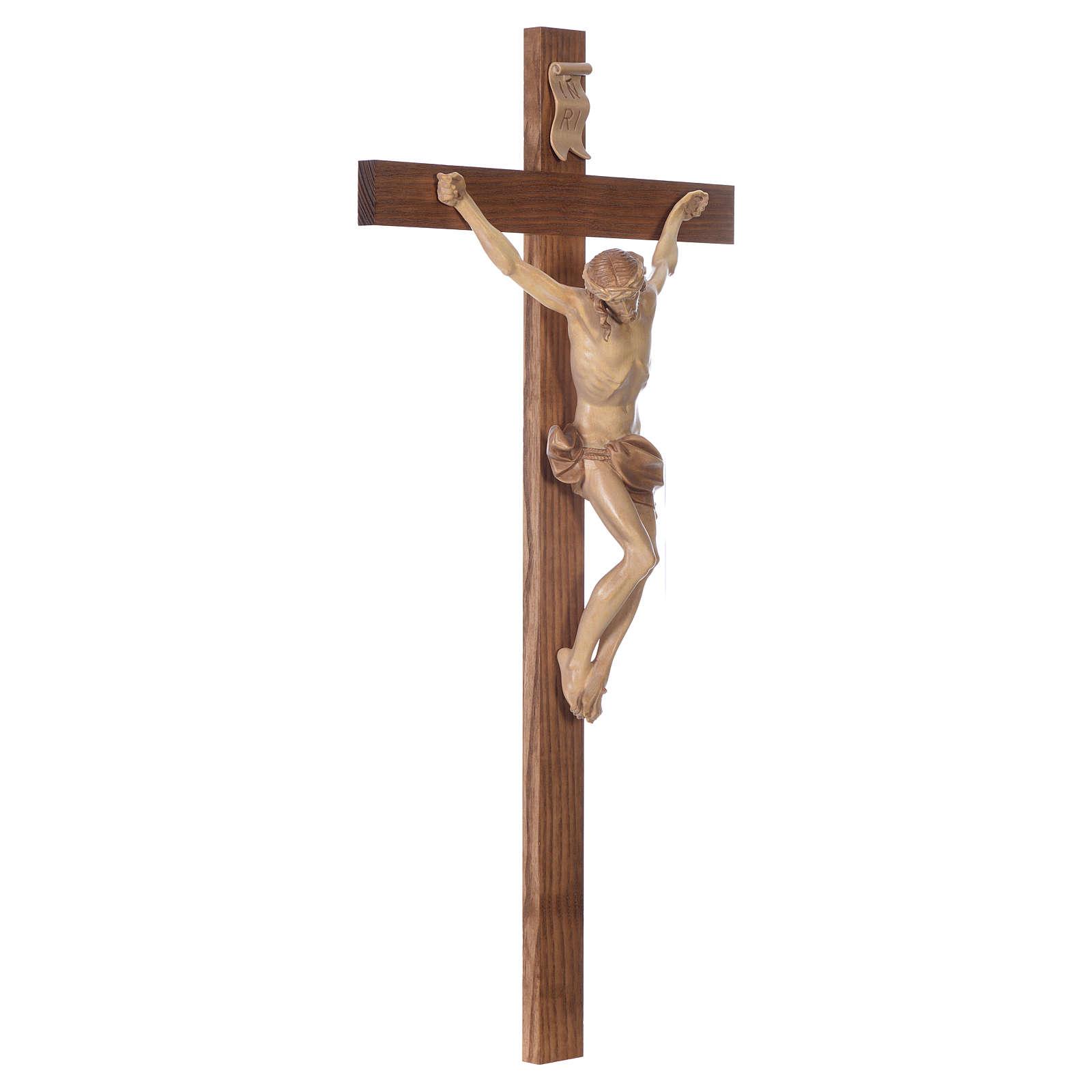 Crocefisso croce dritta mod. Corpus Valgardena multipatinata 4