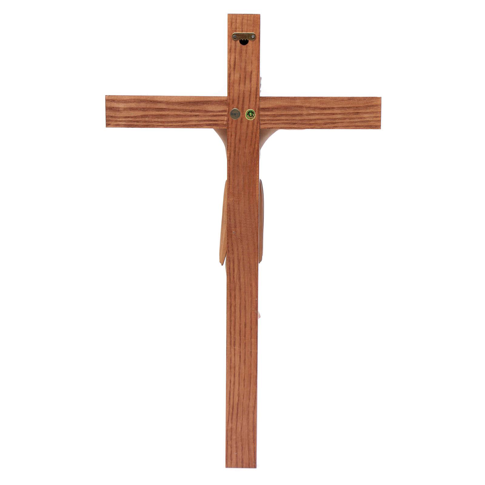 Altenstadt crucifix, romanesque in multi-patinated Valgard 4