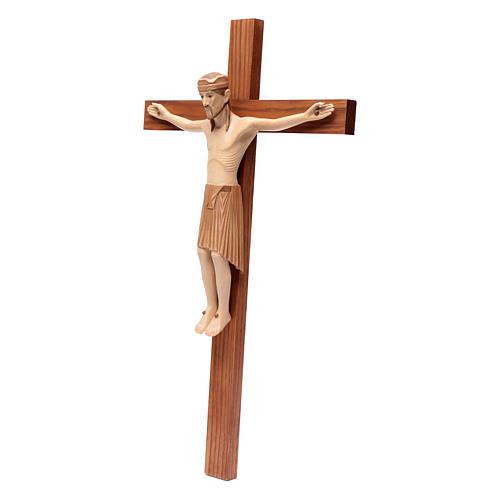 Altenstadt crucifix, romanesque in multi-patinated Valgard 2