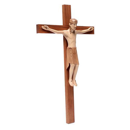 Altenstadt crucifix, romanesque in multi-patinated Valgard 3