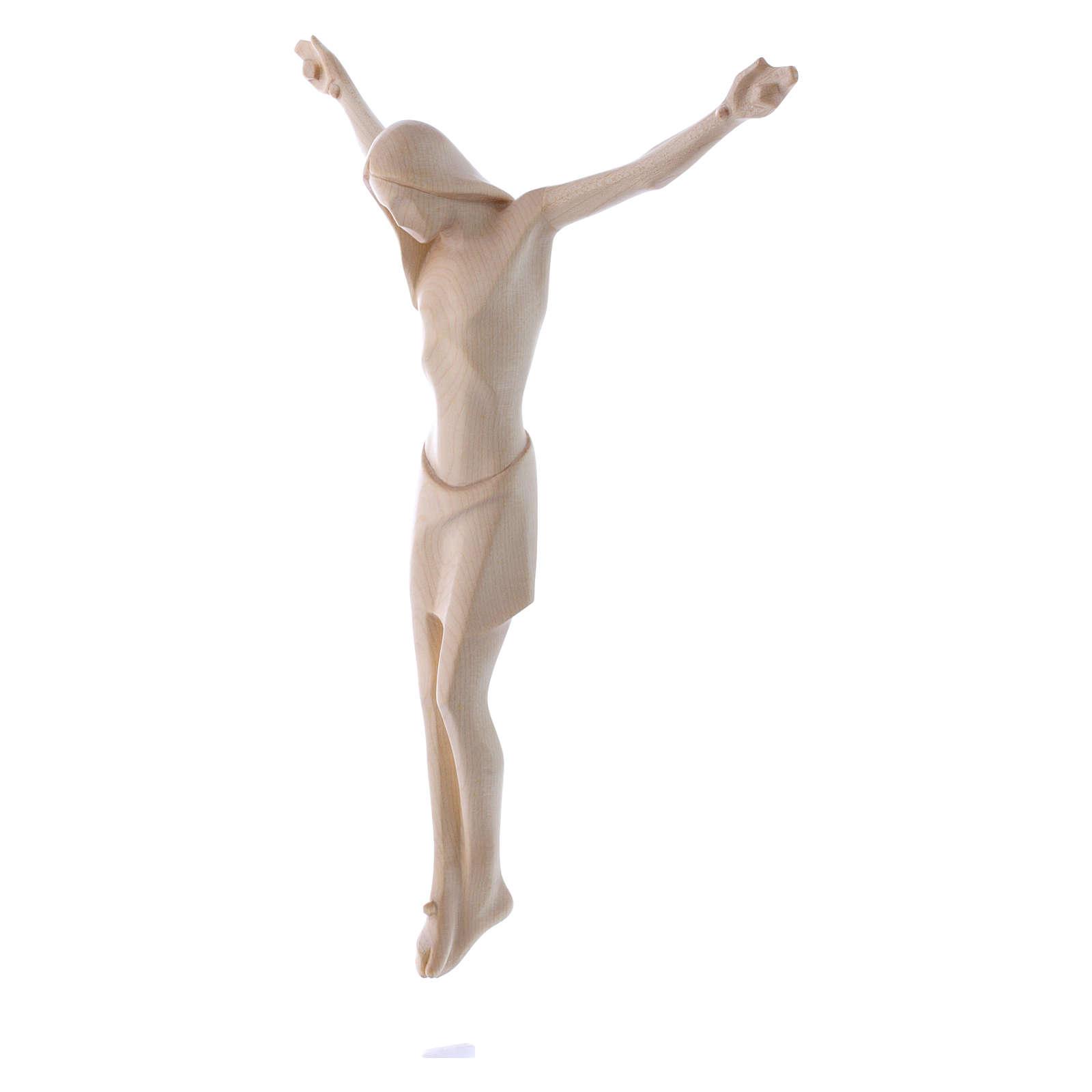 Cuerpo de Cristo, Corpus estilizado, madera Valgardena encerada 4