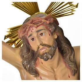 Corps du Christ 'Agonie' pâte à bois 50 cm fin. élégante s2