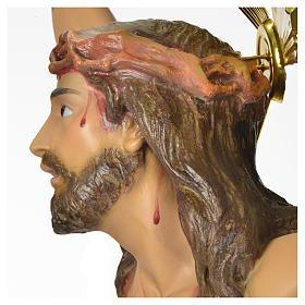 Corps du Christ 'Agonie' pâte à bois 50 cm fin. élégante s9