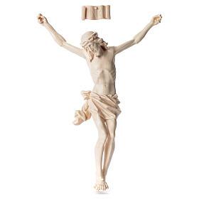 Cuerpo de Cristo Mod. Corpus madera Val Gardena Natural s1