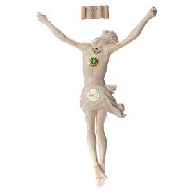 Cuerpo de Cristo Mod. Corpus madera Val Gardena Natural s2