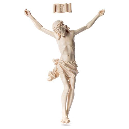 Cuerpo de Cristo Mod. Corpus madera Val Gardena Natural 1