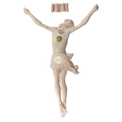 Cuerpo de Cristo Mod. Corpus madera Val Gardena Natural 2