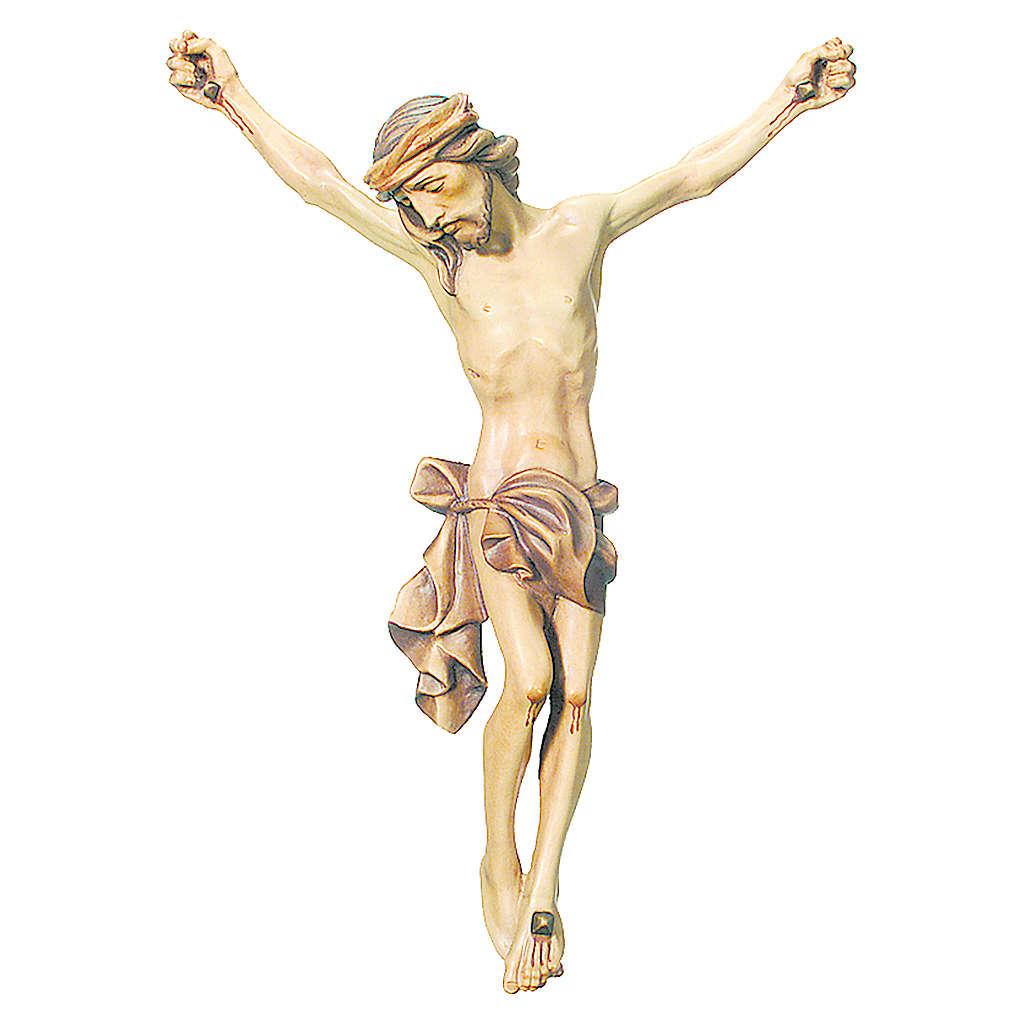 Corpo di Cristo legno dipinto finitura marrone 4