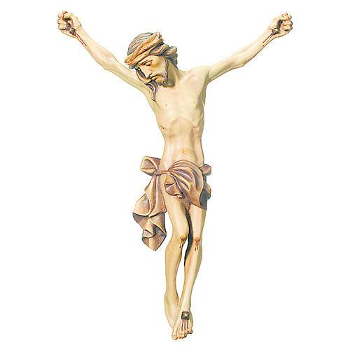 Corpo di Cristo legno dipinto finitura marrone 1