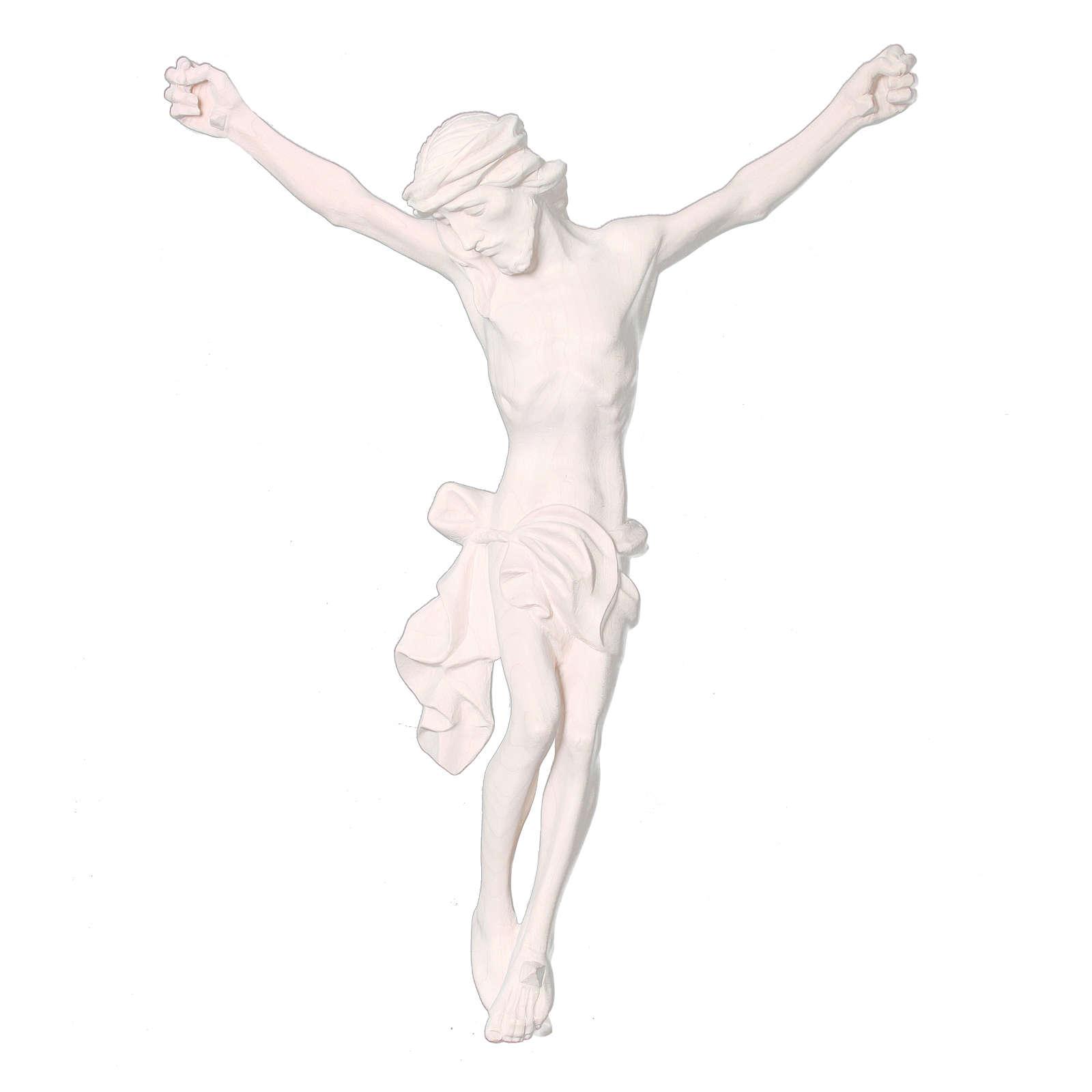 Corpo di Cristo in legno naturale dipinto 4