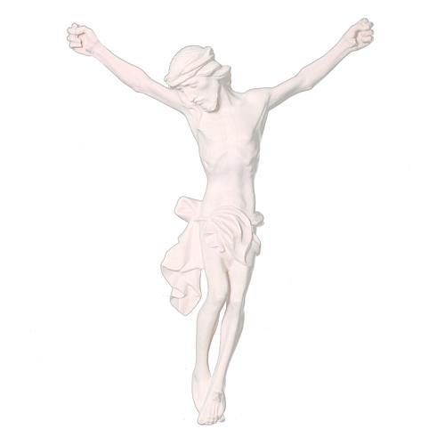 Corpo di Cristo in legno naturale dipinto 1
