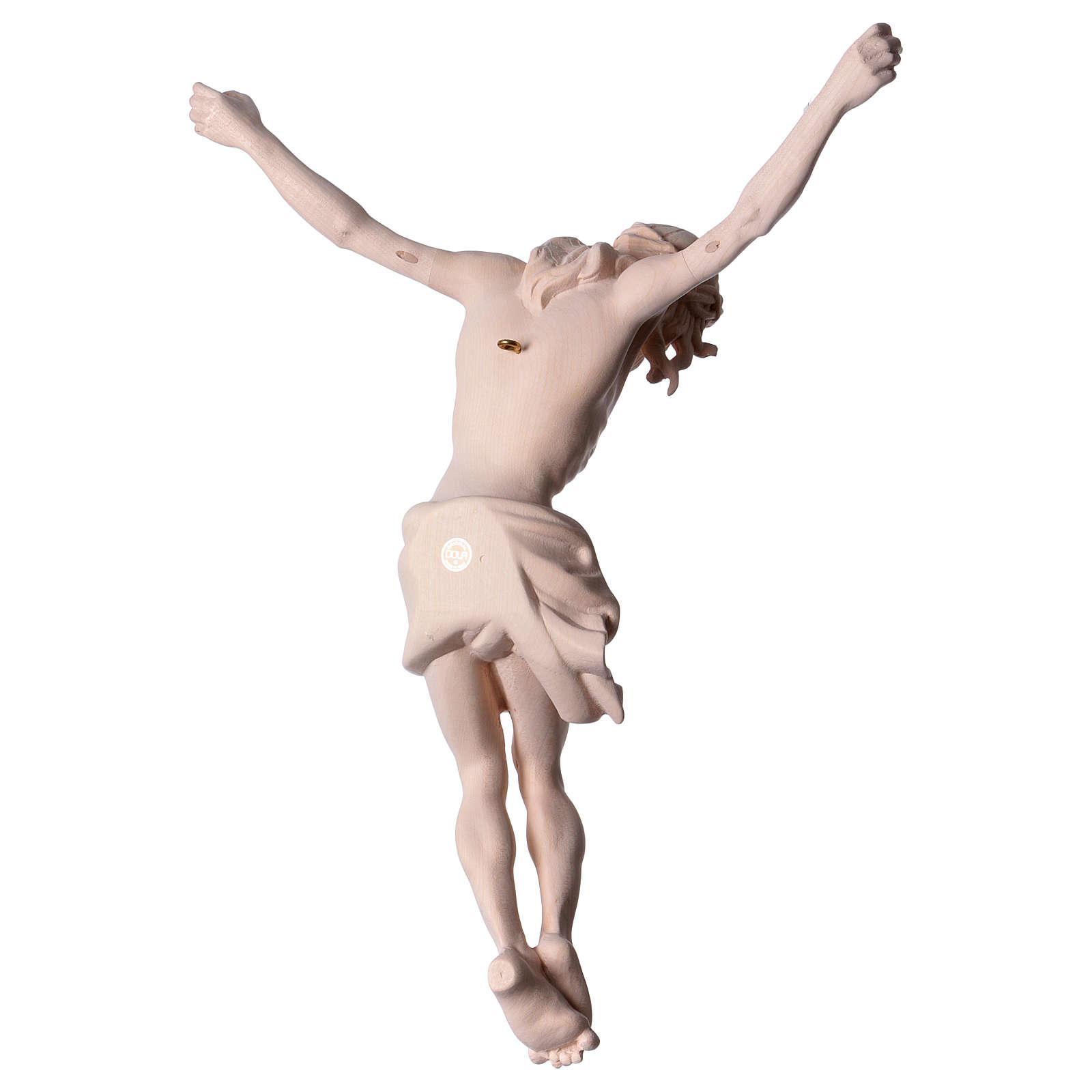 Corpo di Cristo in legno naturale 4